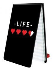 8-Bit Hearts Life Pad
