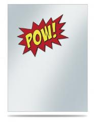 Deck Protector Sleeves - POW!! (10 Packs of 50)