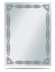 Deck Protector Sleeves - Silver Celtic Border (10 Packs of 50)