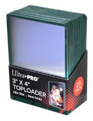 "Toploader - Green Border (3"" x 4"") (25)"