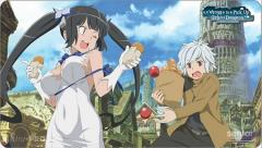 Playmat - Is It Wrong to Pick Up Girls in a Dungeon? - Bell & Hestia