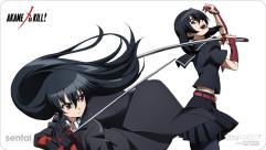 Playmat - Akame ga Kill! - Akame & Kurome