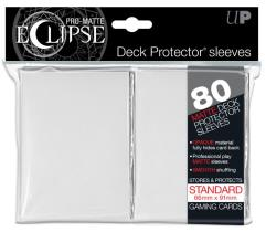 Pro-Matte Eclipse Card Sleeves - White (80)