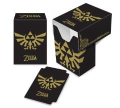 Full-View Deck Box - Legend of Zelda, Black & Gold
