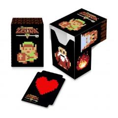 Full-View Deck Box - Legend of Zelda, 8-Bit