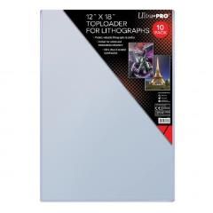 "12"" x 18"" Toploader for Lithographs (10)"