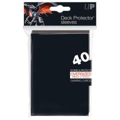 Oversized Deck Protectors Sleeves - Black (40)
