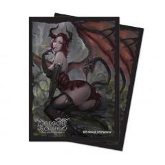 Dragoborne Standard Deck Protector Sleeves (10 pack of 65) - Alluring Temptress