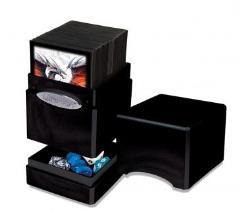 Metallic Tower Deck Box - Midnight