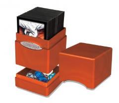 Metallic Tower Deck Box - Pumpkin