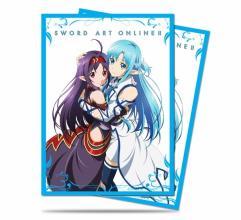 Card Sleeves - Sword Art Online II, Yuuki & Asuna (10 Packs of 65)