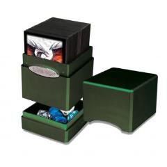 Satin Tower Deck Box - Radiant Amber Moss