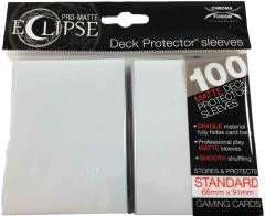 Pro-Matte Eclipse Card Sleeves - Arctic White (100)