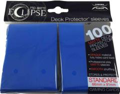 Pro-Matte Eclipse Card Sleeves - Pacific Blue (100)