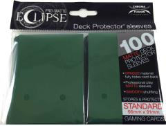 Pro-Matte Eclipse Card Sleeves - Forest Green (100)