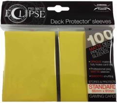 Pro-Matte Eclipse Card Sleeves - Lemon Yellow (100)