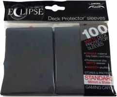 Pro-Matte Eclipse Card Sleeves - Smoke Grey