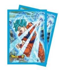 Deck Protector Sleeves - Dragon Ball Super - Super Saiyan Blue Son Goku (65)