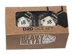 D20 Heavy Metal - White