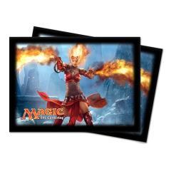 Card Sleeves - Magic 2014, Chandra, Horizontal (10 Packs of 80)