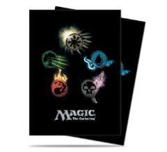 Card Sleeves - Mana Symbols, Series 4 (80)