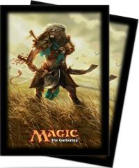 Card Sleeves - Journey into Nyx, Ajani (80)