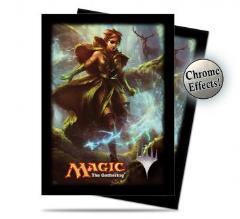 Card Sleeves - Commander 2014, Freyalise - Llanowar's Fury (120)