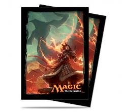 Card Sleeves - Fate Reforged, Sarkhan Vol (80)