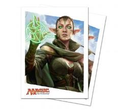 Card Sleeves - Oath of the Gatewatch, Oath of Nissa (80)