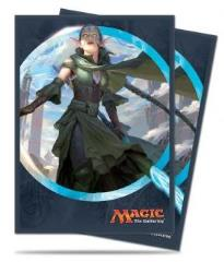 Card Sleeves - Kaladesh Nissa, Vital Force (80)