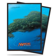 Card Sleeves - Mana Series 5 - Island (10 Packs of 80)