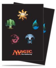 Card Sleeves - Mana Symbols, Series 5 (80)