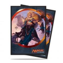Card Sleeves - Aether Revolt, Ajani (10 packs of 80)