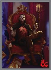 Standard Card Sleeves - Count Strahd von Zarovich (10 Packs of 50)