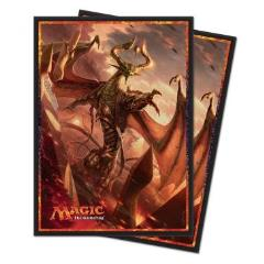 Card Sleeves - Hour of Devastation, Nicol Bolas God-Pharaoh (80)