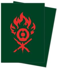Guilds of Ravnica Card Sleeves - Gruul Clans (100)