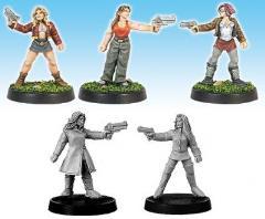 Militia Females w/Pistols