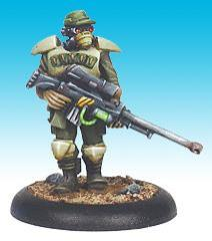 Colonial Marine Veteran Sniper - Advancing