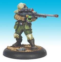 Colonial Marine Sniper - Firing