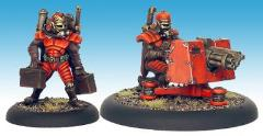 Legionary Heavy Chain Gun Team