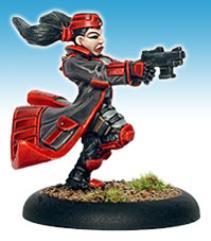 Female Suppressor Sergeant Firing #1