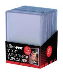 """Toploader - 75PT Super Thick (3"""" x 4"""") (25)"""
