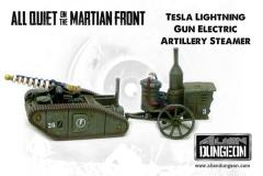 Tesla Lightning Gun Artillery Tank (1st Printing)