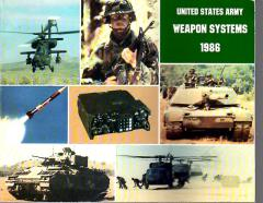 United States Army - Weapon Systems, 1986