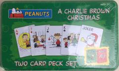 Peanuts - A Charlie Brown Christmas Playing Card Tin