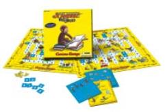 Scrabble Junior - Curious George Edition
