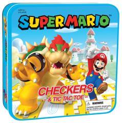 Checkers and Tic Tac Toe- Super Mario