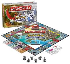 Monopoly - Pokemon - Johto Edition