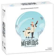 Nefarious - The Mad Scientist Game (2nd Edition)