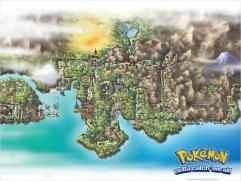 Pokemon - Johto Map